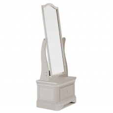 Acton Cheval Mirror Taupe