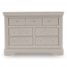 Acton 4+3 Drawer Chest of Drawers Taupe