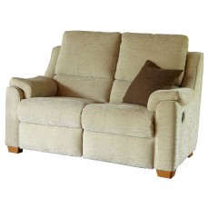 Parker Knoll Albany 2 Seater Manual Reclining Sofa Fabric B