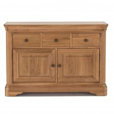 Brid Oak Narrow Sideboard