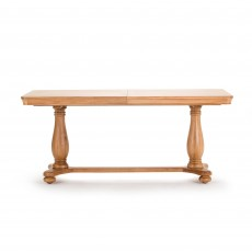 Brid Oak 6-8 Person Extending Dining Table