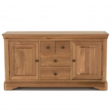 Brid Oak Wide Sideboard
