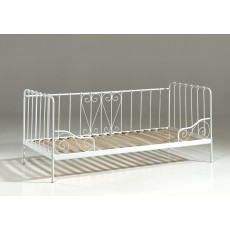 Vipack Alice Captain Single (90cm) Bedstead White