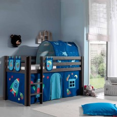 Vipack Pino Bedstead Storage Pockets (Set of 3) Astro Blue