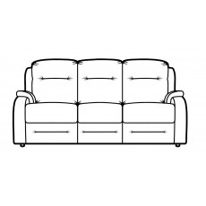 Parker Knoll Boston 3 Seater Sofa Fabric A