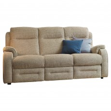 Parker Knoll Boston 3 Seater Power Reclining Sofa Fabric A