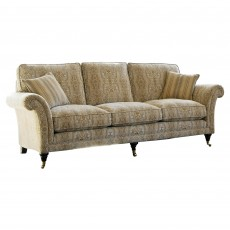 Parker Knoll Burghley 4 Seater Sofa Fabric B