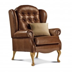 Sherborne Lynton Fireside Chair Leather Grade 1