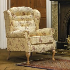 Sherborne Lynton Fireside Chair High Seat Standard Fabric