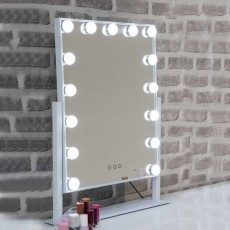 Hollywood Large Vanity Mirror With Interchangeable LED Lights