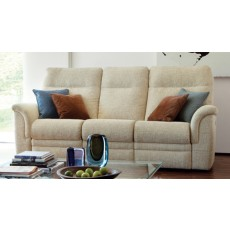 Parker Knoll Hudson 3 Seater Power Reclining Sofa Fabric A