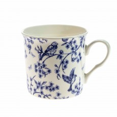 Simply Home Mugs Botanical Blue (Set of 4)