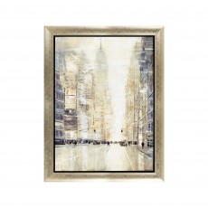 Artko Empire State View 112cm x 86cm Picture Gold Frame by Jon Barker