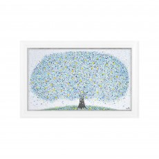 Artko Forever Spring 116cm x 76cm Picture White Frame by Sarah Pye