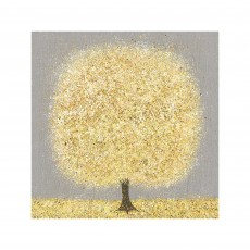 Artko Ochre Blossom Ige 100cm x 100cm Picture by Nicky Chubb