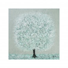 Artko Mint Blossom 100cm x 100cm Picture by Nicky Chubb