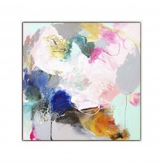 Artko Transformation 104cm x 104cm Picture White Frame by Natasha Barnes