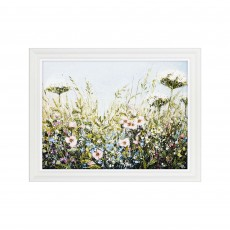 Artko Wildflower View 91cm x 71cm Picture by White Frame Marie Mills