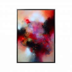 Artko Up From Eden 74cm x 104cm Picture Grey Frame by Eelco Man