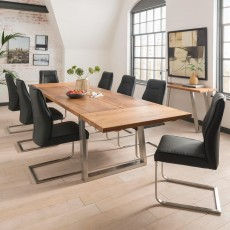 Kerry Dining Table Extension Leaf Oak