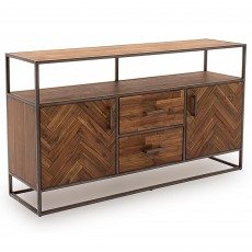 Lavannah Wide Sideboard Light Acacia