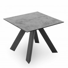 Barri Square Side/Lamp Table Grey