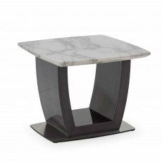 Miguel Square Side/ Lamp Table Grey