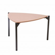 Noelle Triangle Side/Lamp Table Peach