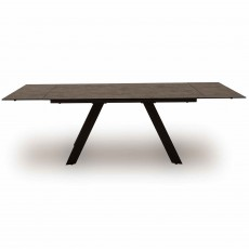 Barri 6-10 Person Extending Dining Table Grey
