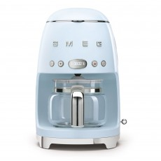 SMEG Drip Coffee Machine Pastel Blue