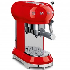 SMEG Espresso Machine Red