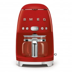 SMEG Drip Coffee Machine Red