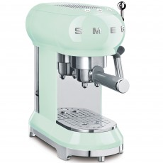 SMEG Espresso Machine Pastel Green