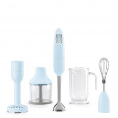SMEG Hand Blender With Accessories Pastel Blue