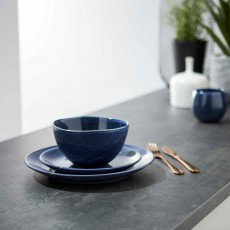 Simply Home Algarve Side Plate Dark Blue