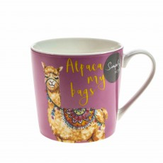 Simply Home Alpaca My Bags/You're Llamazing Mugs Multi Coloured (Set of 4)