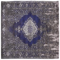 Mindy Brownes Jacquard Woven Rug Grey & Blue