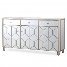 Ashley Wide Sideboard Mirrored