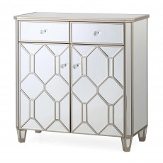 Ashley Narrow Sideboard Mirrored