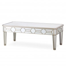 Ashley Coffee Table Mirrored