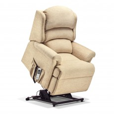 Sherborne Albany Petite Electric Lift and Rise Recliner With Lumbar Support Standard Fabric