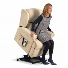 Sherborne Malvern Lift & Rise Electric Reclining Armchair Standard Fabric