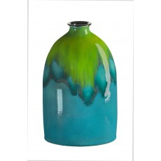 Poole Pottery Tallulah 23cm Oval Bottle Vase