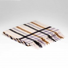 McNutt Supersoft Lambswool Milk & Honey Scarf 29cm x 224cm Multicoloured