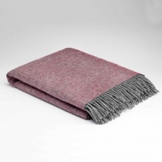 McNutt Home Cosy Rose Throw 145cm x 200cm Purple