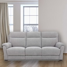Nara 3 Seater Electric Reclining Sofa Fabric
