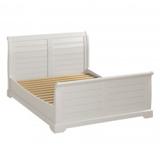 Epping Super King Sleigh Bedstead Grey