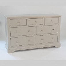 Epping 4 + 3 Drawer Chest of Drawers Grey