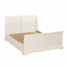 Epping Super King Sleigh Bedstead Ivory