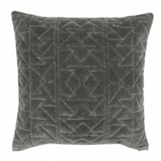 Paoletti Aztec Cushion 50cm x 50cm Grey